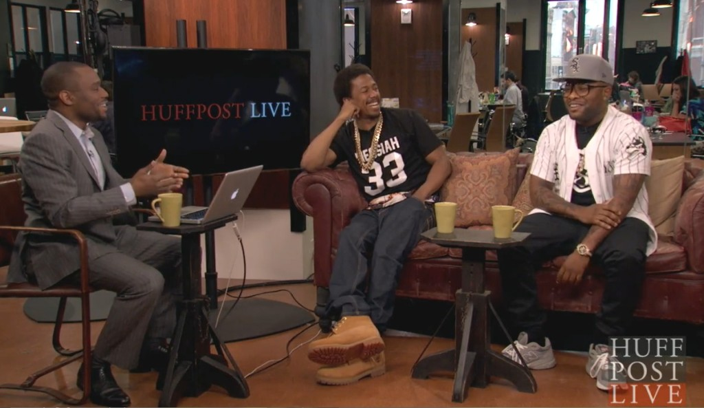 Nick Cannon Chico Bean HuffPost Live