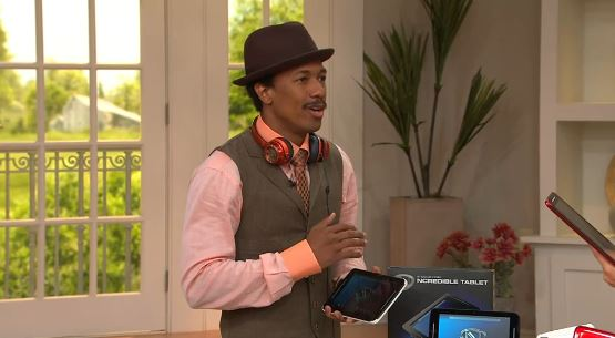 Nick Cannon Ncredible Tablet QVC debut