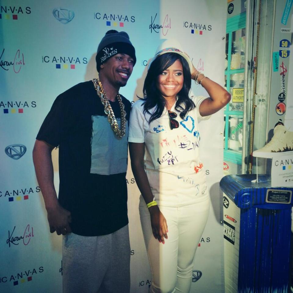 Nick Cannon Karen Civil