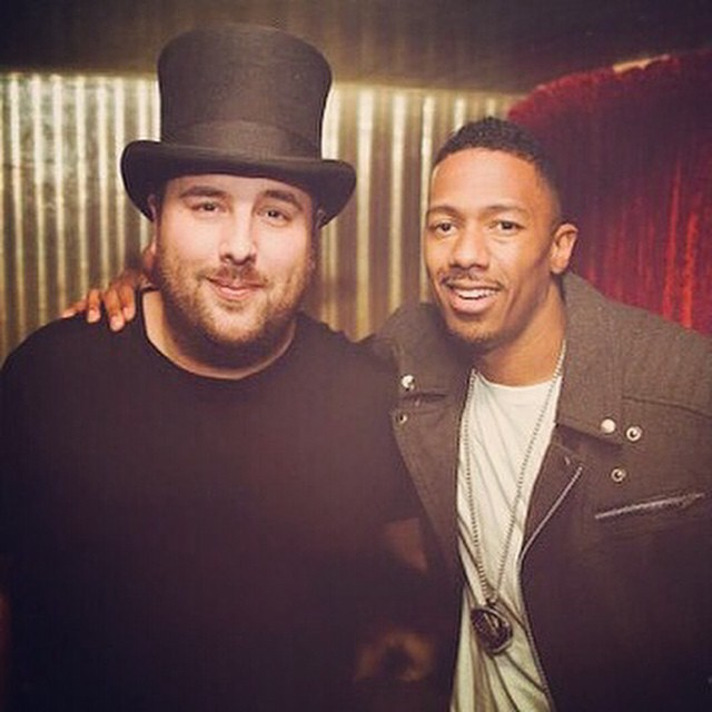 Nick Cannon Top Hat Tom
