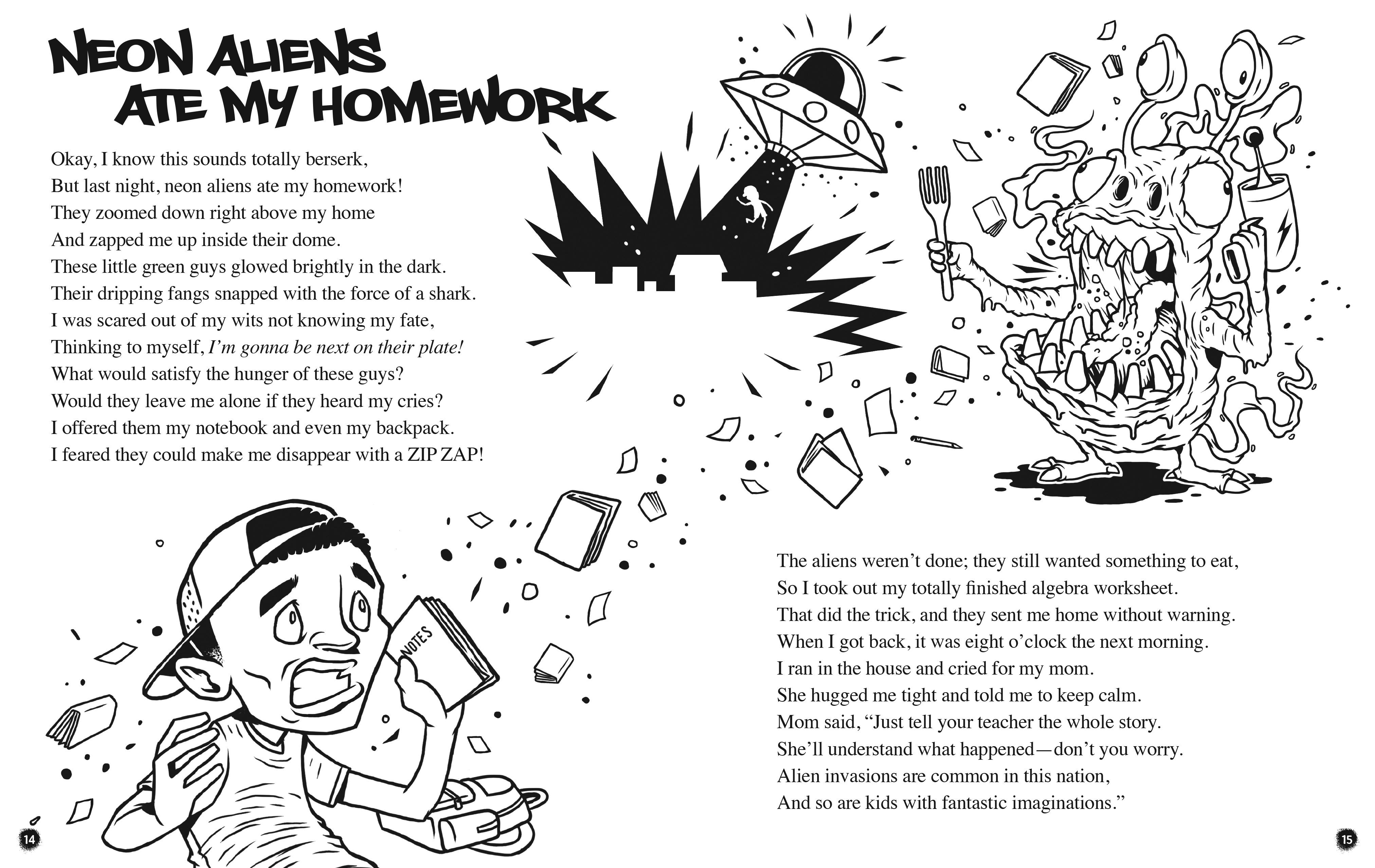Alien ate my homework
