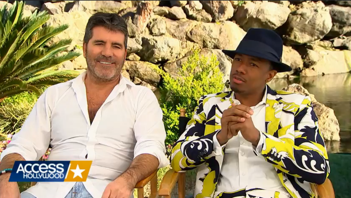 Simon Cowell and Nick Talk AGT Season 11 on Access Hollywood