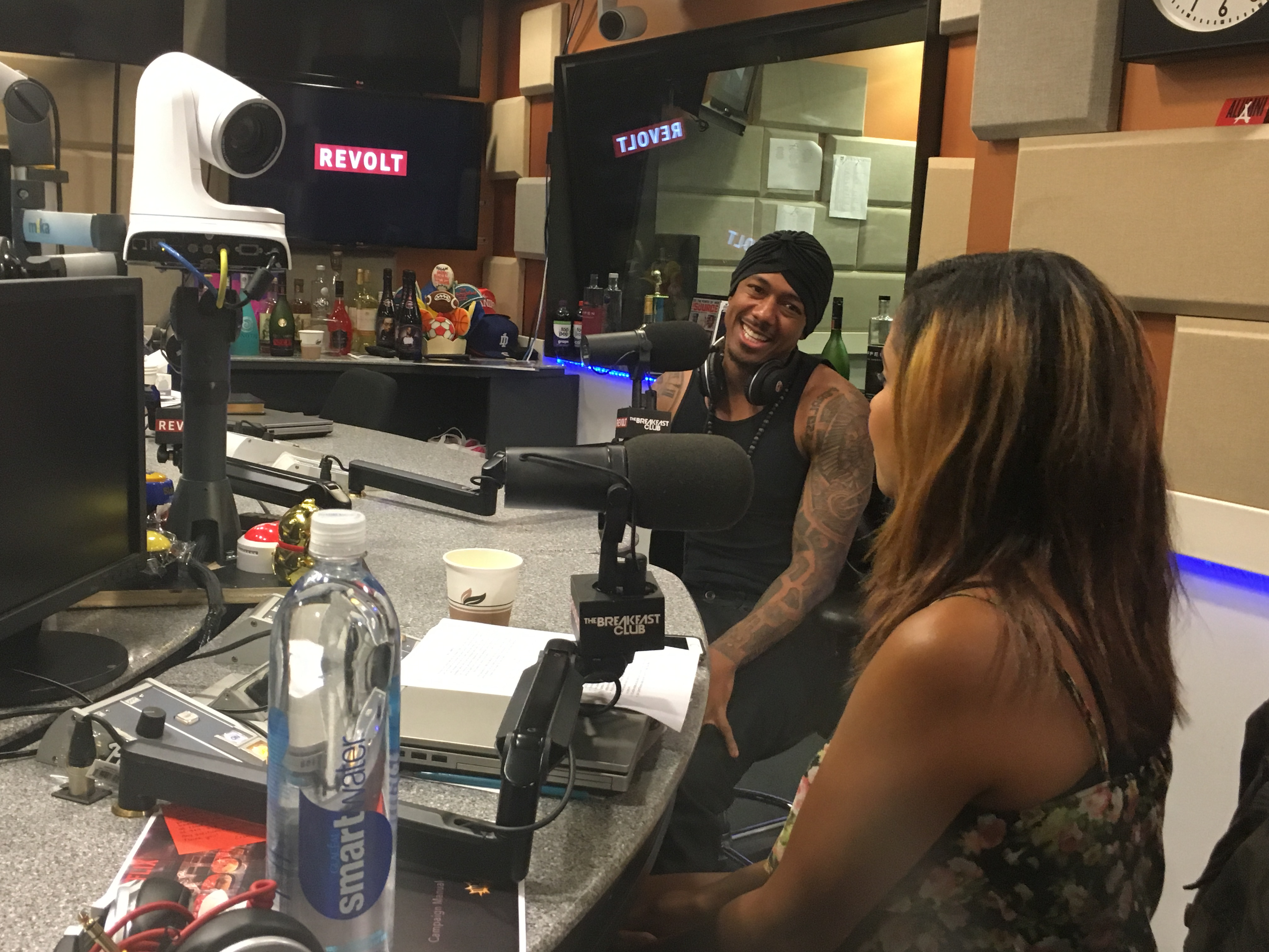 Nick Cannon Wilds Out with The Breakfast Club on Power 105