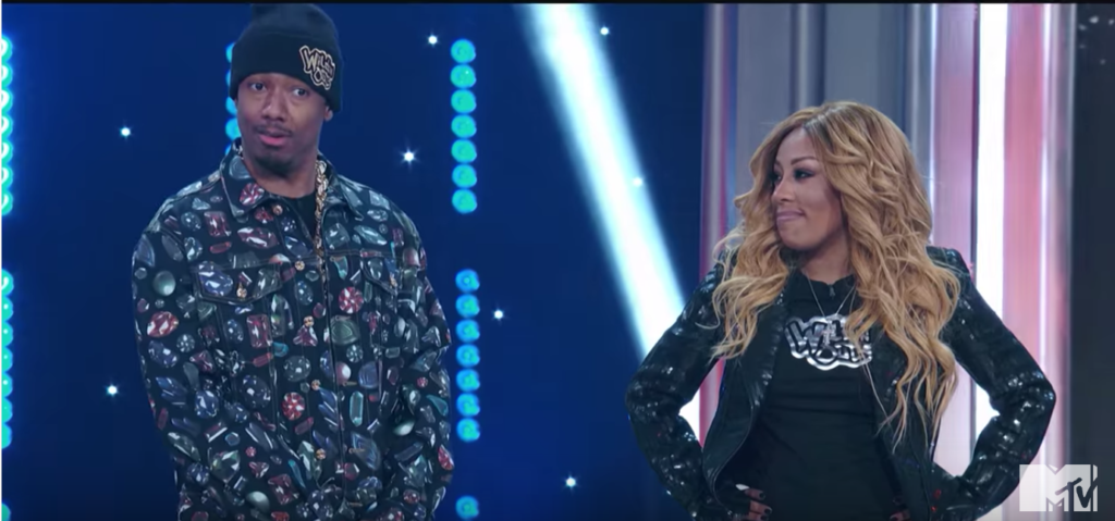 Nick Cannon KMichelle Wild N Out LIVE