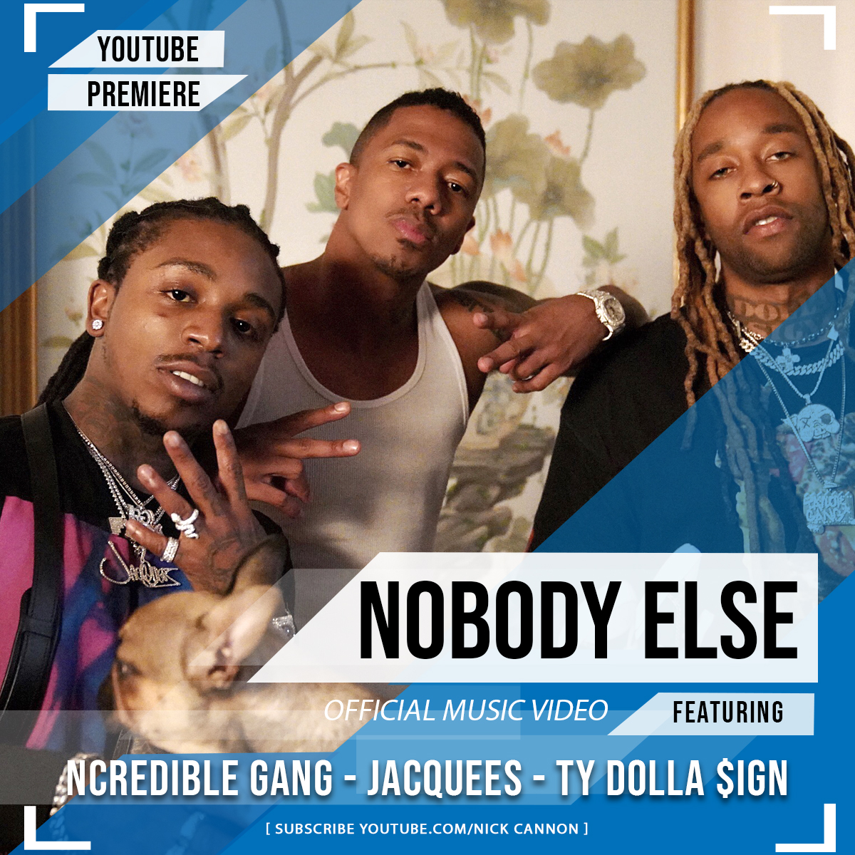 WATCH: NICK CANNON DROPS TY DOLLA $IGN + JACQUEES' NEW NOBODY ELSE VIDEO