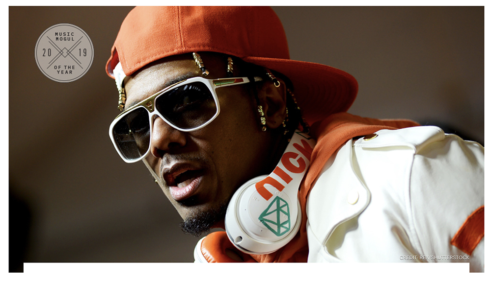 NICK CANNON LISTS AS VARIETY'S MUSIC MOGULS OF THE YEAR!